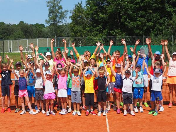 TCL Sommer Tennis Camp Gruppenfoto b 12082017